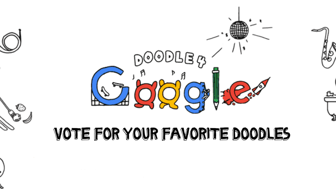 doodle 4 google vote today walter plume books